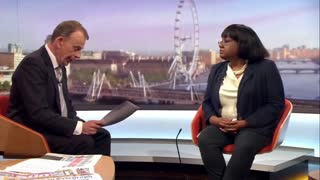 Opinion Plus Diane Abbott Absolutely OBLITERATED by Andrew Marr in a Car Crash Interview on NOT Banning Al-Qaeda