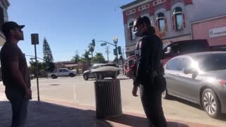 """CA restaurant owner blocks health inspector's vehicle with pickup truck, """"If we can't work, he can't work . . . I'm desperate . . . ."""""""