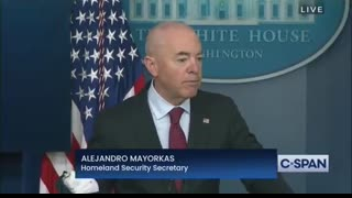 """DHS Secretary Mayorkas says there is not a """"crisis at the border"""""""