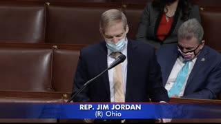 Jim Jordan debates Pelosi 's H.R.1 Election Law Bill in the Well